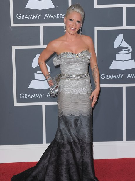 Pink at the 2010 Grammy Awards