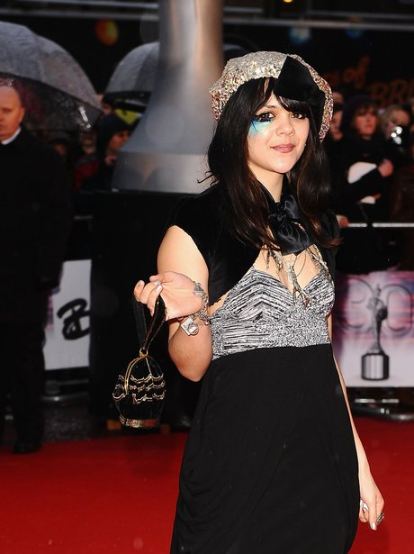 Bat For Lashes walks the red carpet at a premiere