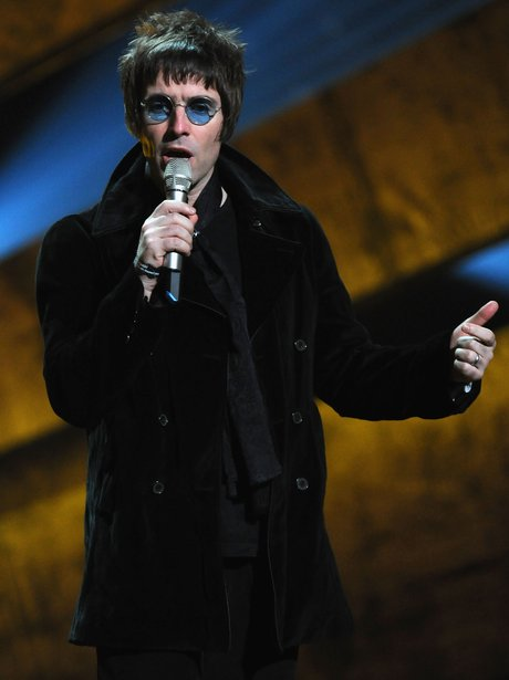 Liam Gallagher at the 2012 BRIT Awards