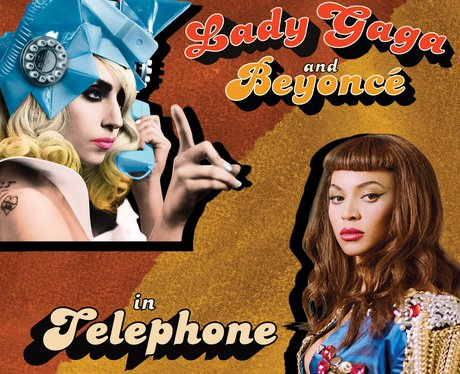 Lady Gaga and Beyonce in Telephone