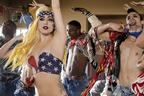 Image 7: Lady Gaga and Beyonce in Telephone - Video Stills