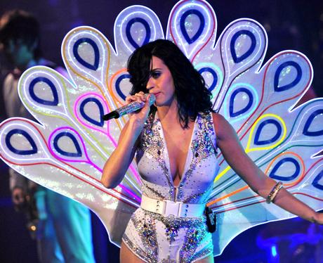 Katy Perry performing live