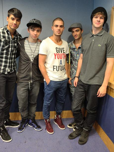 The Wanted with Jamie and Harriet's breakfast show