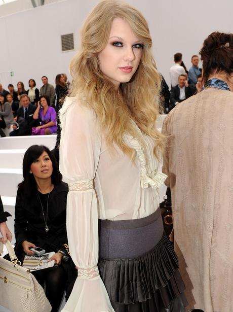 Taylor Swift during Milan Fashion Week