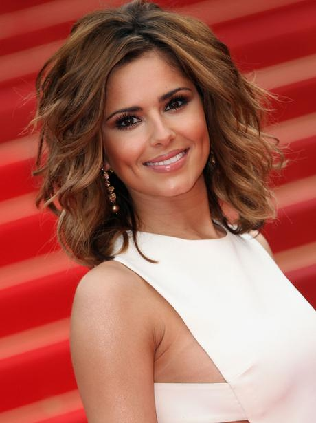 Cheryl Cole with short hair