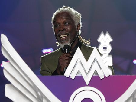 Billy Ocean wins MOBO Award