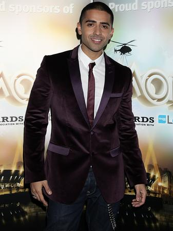 Jay Sean arrives at the MOBOs