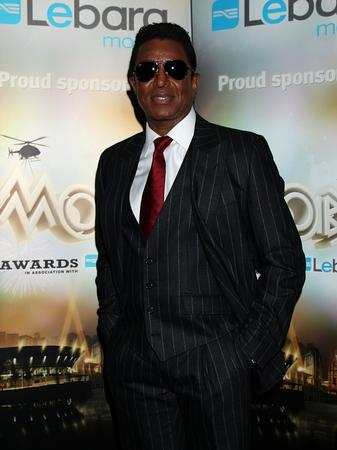 Jermaine Jackson arrives at the MOBO Awards
