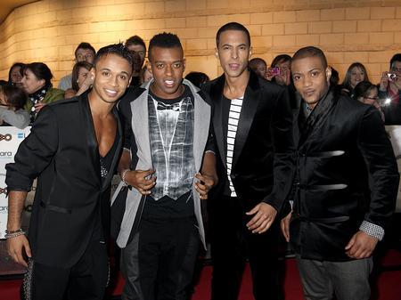 JLS at the MOBO Awards