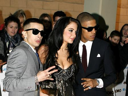 N-Dubz arrive at the 2010 MOBO Awards