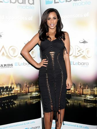 Rochelle Wiseman arrives at the MOBO Awards