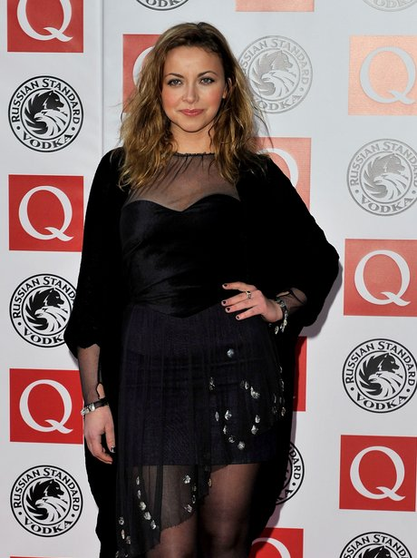 Charlotte Church at  the q awards 2010