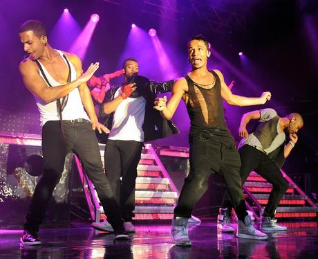JLS on their '4th Dimension' UK tour.