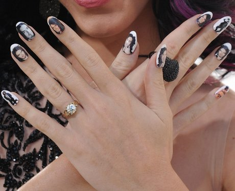 Katy Perrys nails range