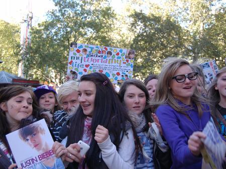 London Beiber Parade