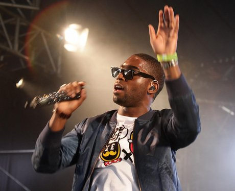 Tinie Tempah live on stage
