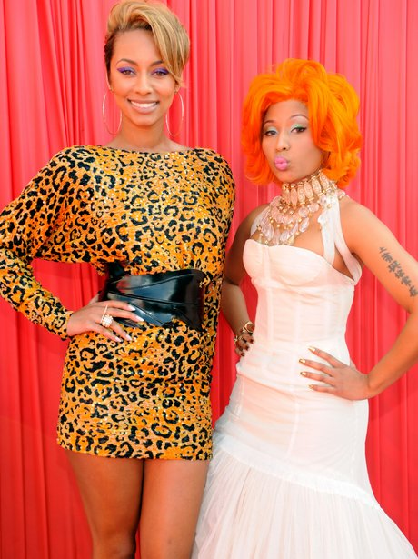 Keri Hilson and Nicki Minaj