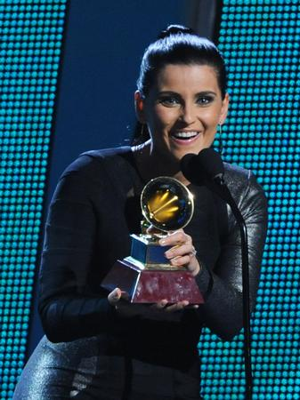 Nelly Furtado at the latin grammy awards