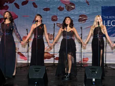 the saturdays performing live