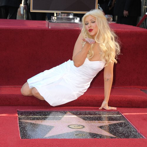 Christina Aguilera Hollywood Walk of Fame
