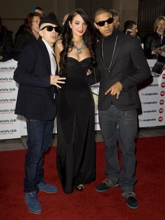 N-Dubz on the red carpet