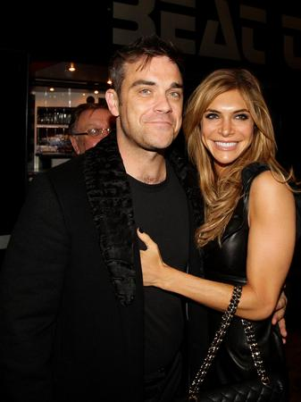 Robbie Williams and Ayde Field