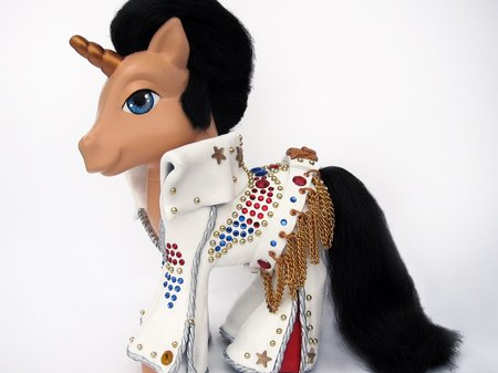 Elvis Presley White Jumpsuit My Little Pony
