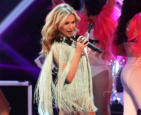 Kylie Minogue performs live in concert