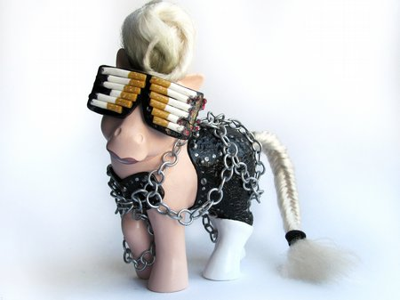 Lady Gaga Telephone Video My Little Pony