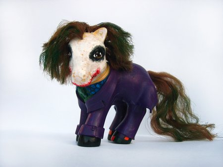 Heath Ledger The Joker My Little Pony
