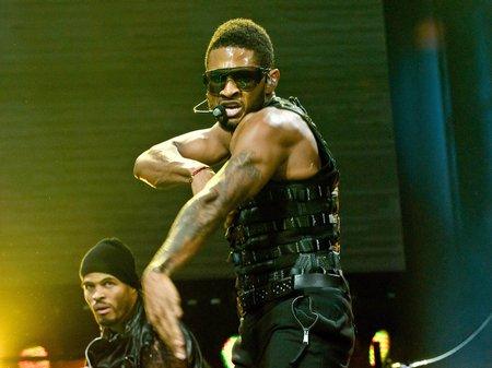 Usher in Houston