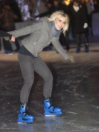 Natasha Bedingfield visits Winter Wonderland
