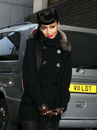 Nicole Scherzinger leaving the London Studios