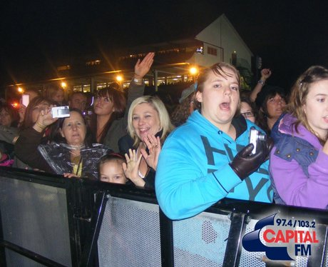 Olly Murs at Chepstow Spooktacular 2010