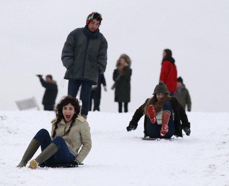 Snowy Snaps in London