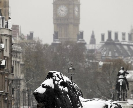 Snowy Snaps in London