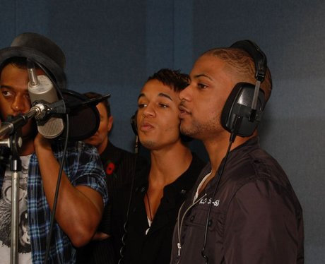 We got JLS to sing for us.
