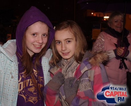 JLS Fans at the CIA