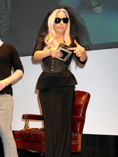 Lady Gaga at the CES