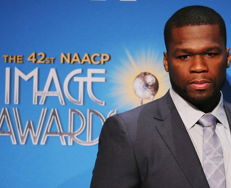 50 cent attends naacp awards nominations