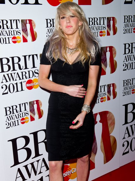 Ellie Goulding at The Brit Awards 2011 nominations