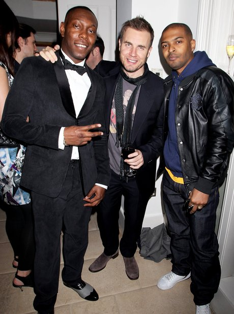 Gary Barlow and dizzee rascal