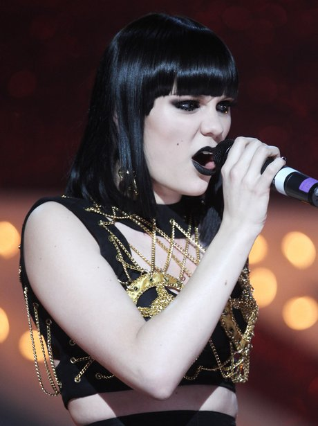 Jessie J performs live at The Brits Nominations Aw