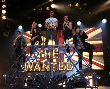 The Wanted perform live at the Brits Awards Nomina