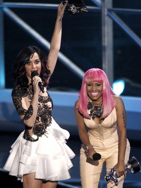 Nicki Minaj and katy perry