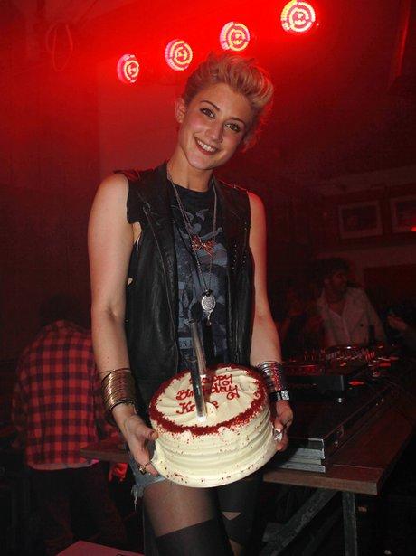 Katie Waissel celebrates her 25th Birthday