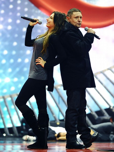 Stacey Solomon and Shaun Ryder