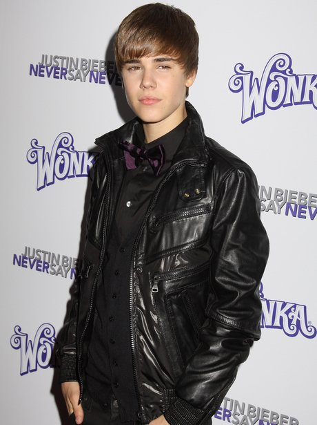 Justin bieber on the red carpet