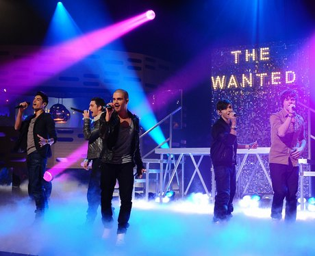 the wanted perform on tv