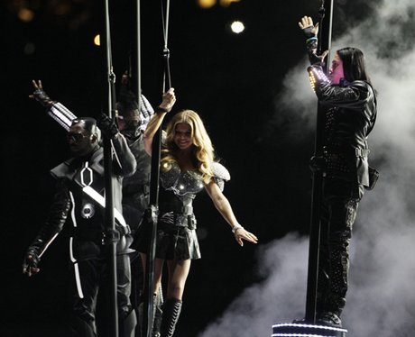 Black Eyed Peas at The Superbowl XLV